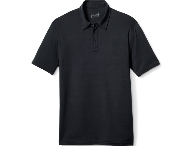 Smartwool Merino 150 Pattern Polo Hombre, charcoal